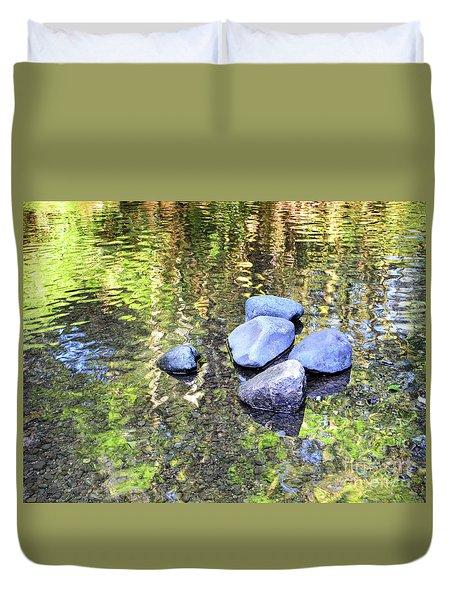 Silky Serenity Duvet Cover