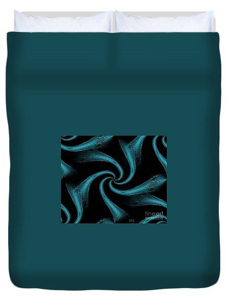 Silky Ties Duvet Cover