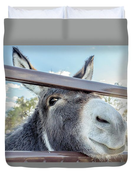 Silly Grin Duvet Cover