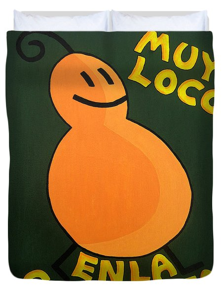 Silly Squash Duvet Cover by Oliver Johnston