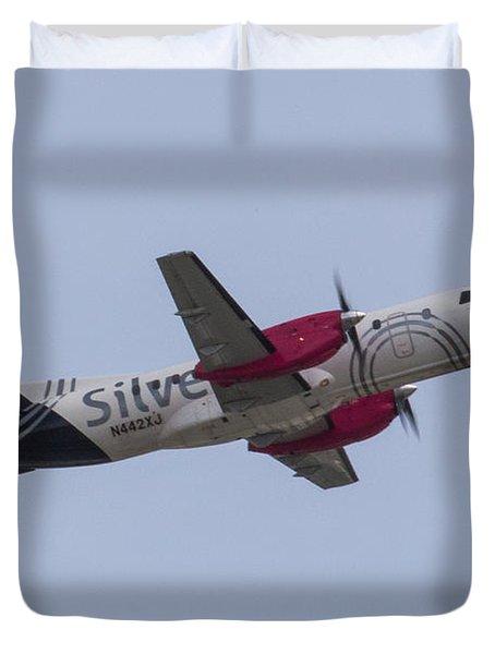 Silver Air Duvet Cover