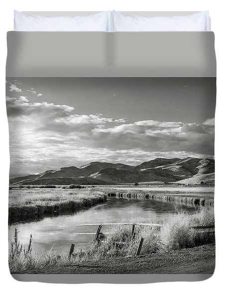 Silver Creek Duvet Cover