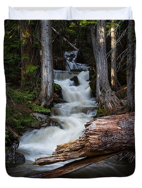 Silver Falls Duvet Cover
