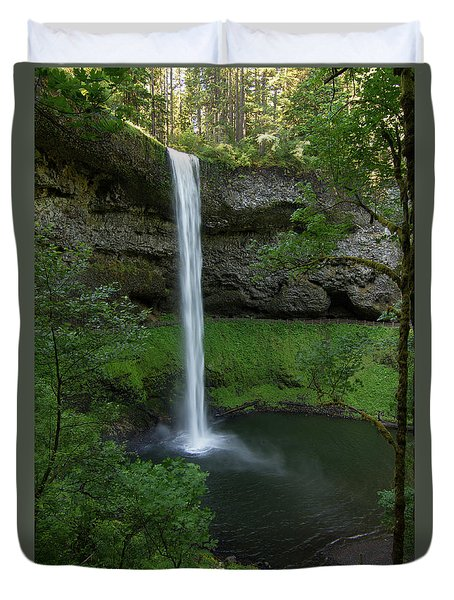 Silver Falls Silver Mist Duvet Cover
