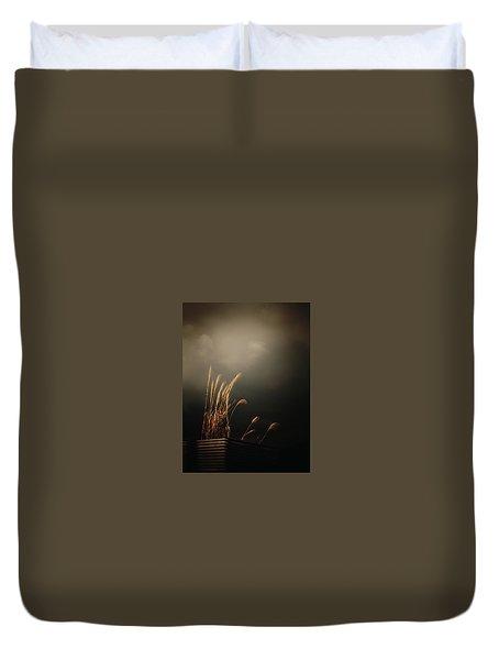 Silver Grass Duvet Cover