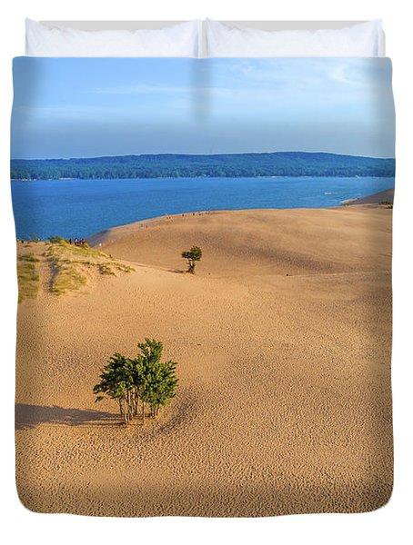 Silver Lake Dunes Duvet Cover