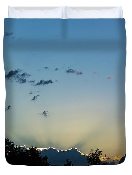 Silver Lining Duvet Cover