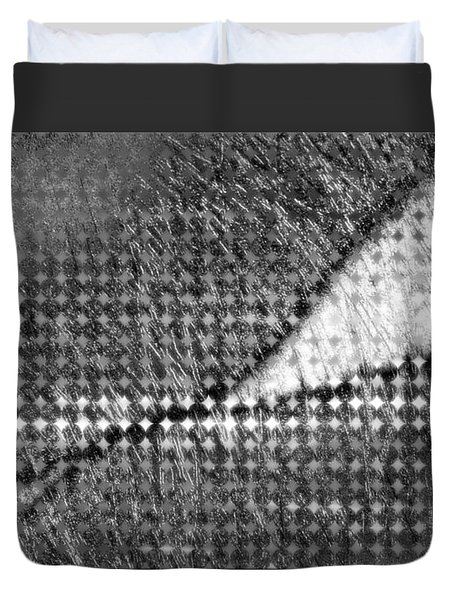 Silver Peg Duvet Cover