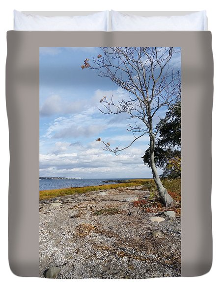 Silver Sands Duvet Cover