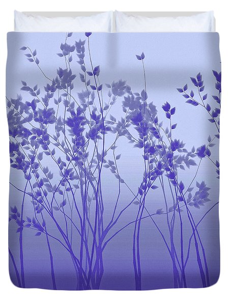 Silver Twilight Duvet Cover