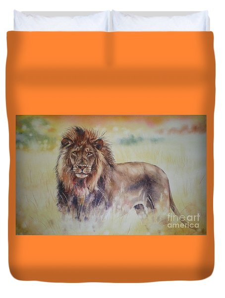 Simba Duvet Cover by Sandra Phryce-Jones
