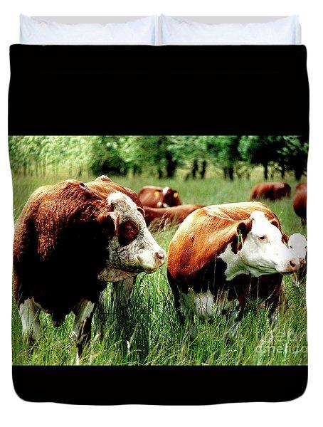 1992 Oregon State University Art About Agriculture Directors Award Winner.  Duvet Cover