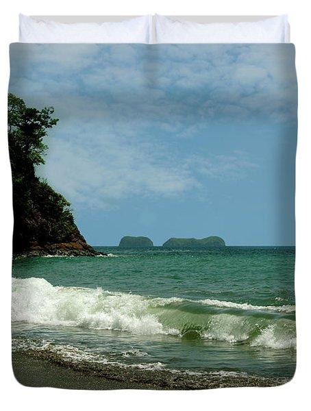 Simple Costa Rica Beach Duvet Cover