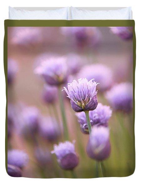 Simple Flowers Duvet Cover