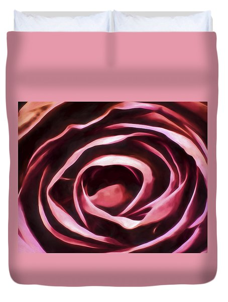 Simple Rose Duvet Cover
