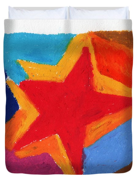 Simple Star Duvet Cover by Stephen Anderson