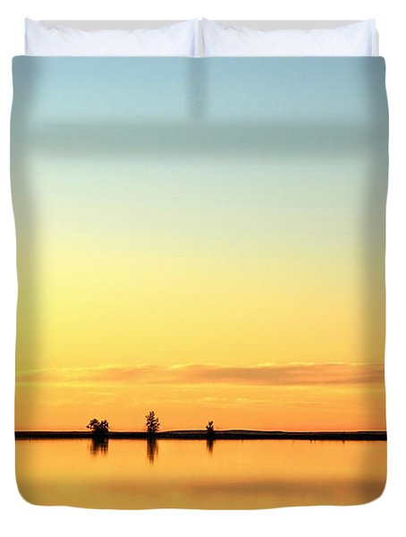 Simple Sunrise Duvet Cover