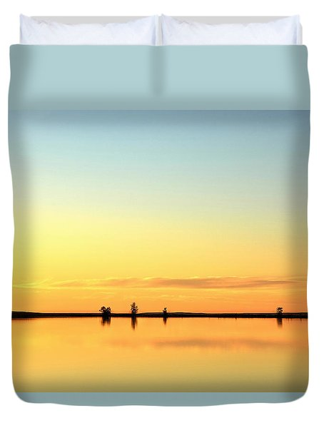 Simple Sunrise Duvet Cover