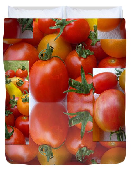 Simple Tomatoes Duvet Cover