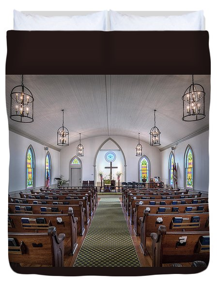 Simple Worship Duvet Cover