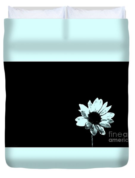 Duvet Cover featuring the photograph Simplicity  by Juls Adams