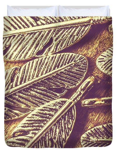 Simply Metallic Duvet Cover