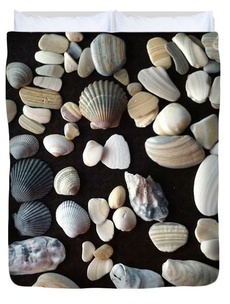 Simply Seashells Duvet Cover
