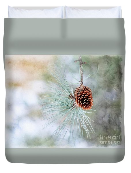 Duvet Cover featuring the photograph Simply Simple by Brenda Bostic