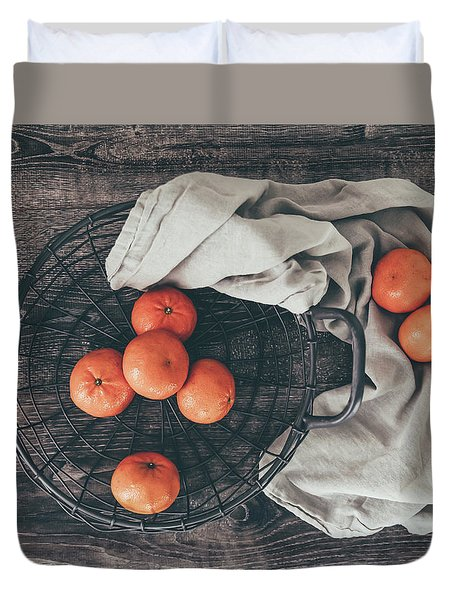 Duvet Cover featuring the photograph Simply Sweet by Kim Hojnacki