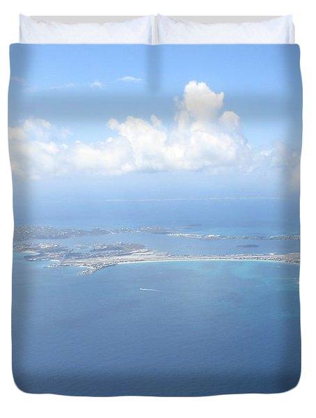 Simpson Bay St. Maarten Duvet Cover