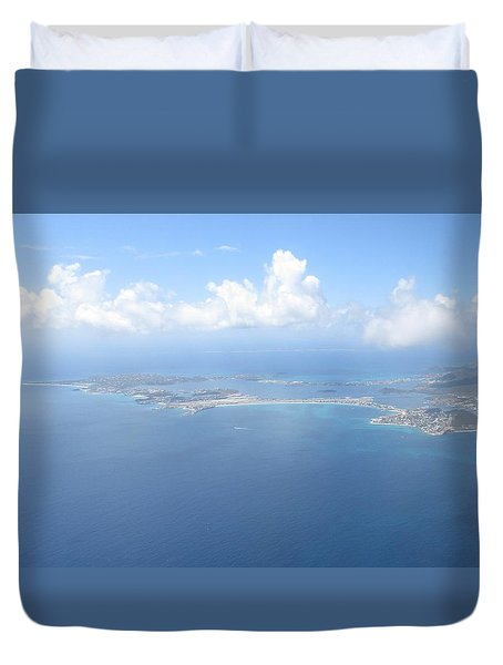 Simpson Bay St. Maarten Duvet Cover