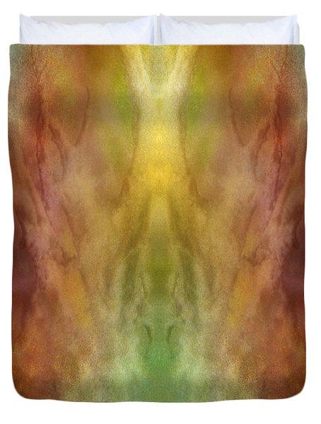 Simultaneous Climax Duvet Cover