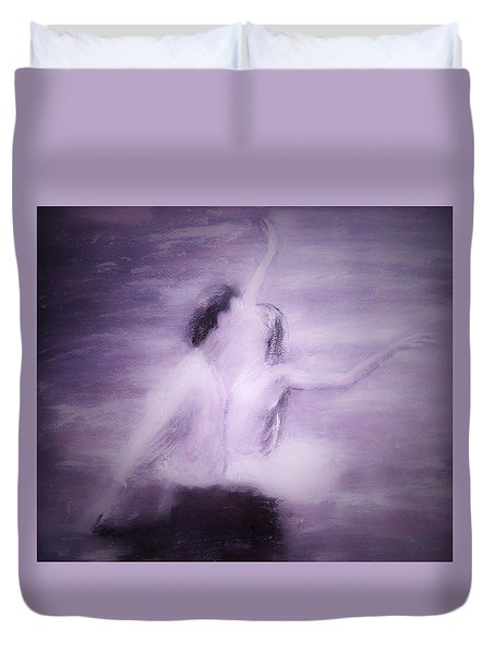 Swan Lake Duvet Cover by Jarko Aka Lui Grande