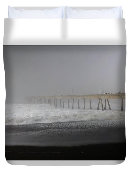 Duvet Cover featuring the photograph Since You Left  by Laurie Search