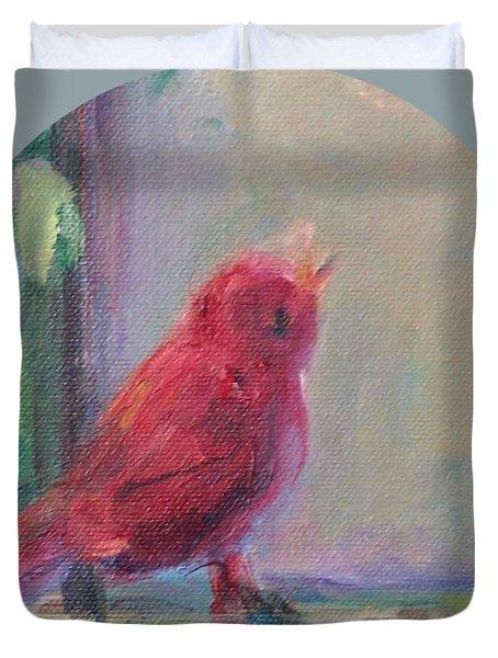 Sing Little Bird Duvet Cover