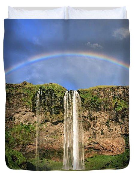 Sing Me A Rainbow Duvet Cover