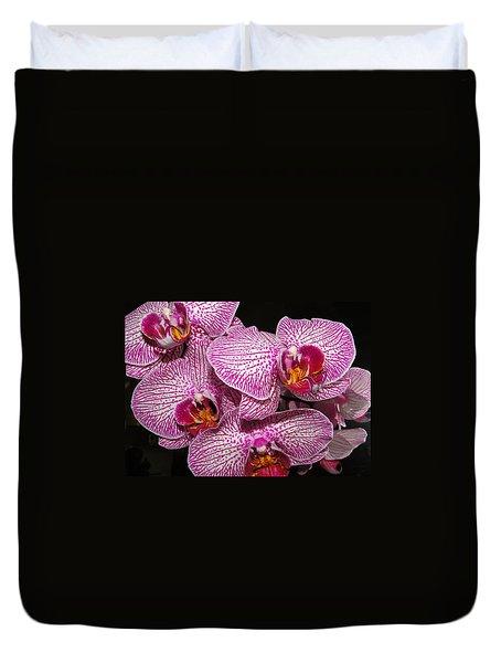 Singapore Orchid Duvet Cover