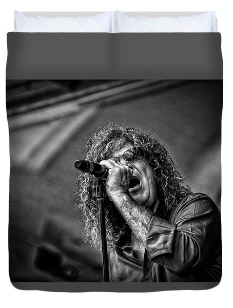 Singer Stormbringer Duvet Cover