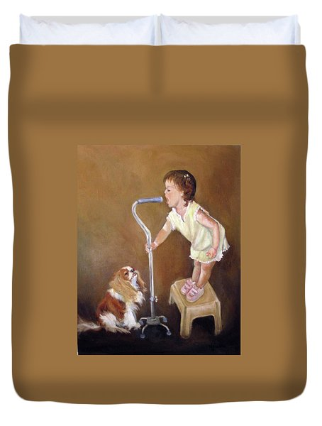 Singin In The Cane Part Two Duvet Cover