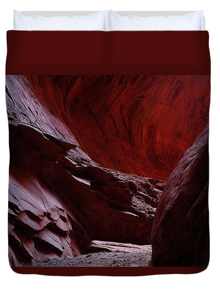 Singing Canyon At Grand Staircase Escalante National Monument In Utah Duvet Cover