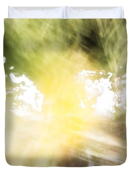 Singing Patterns Duvet Cover
