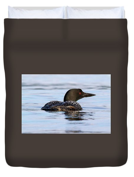 Single Loon Duvet Cover