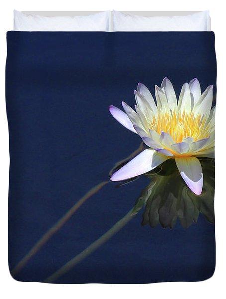 Single Lotus Duvet Cover