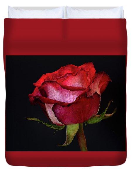 Single Rose Duvet Cover
