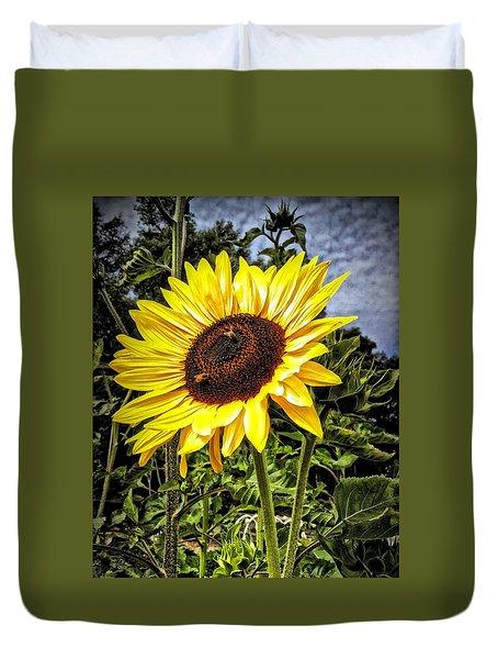 Single Sunflower Duvet Cover