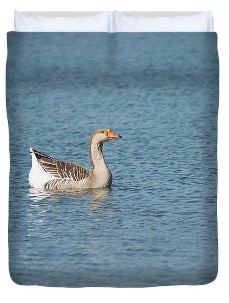 Single Swimmer Duvet Cover