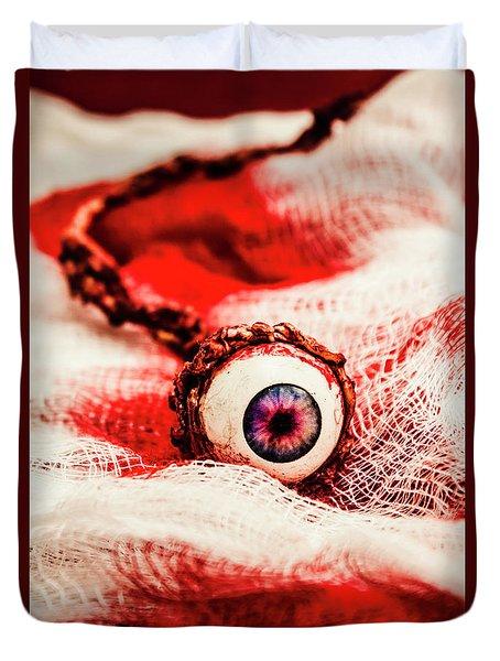 Sinister Sight Duvet Cover