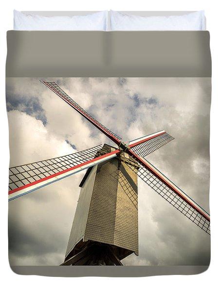 Sint Janshuismolen Windmill 2 Duvet Cover
