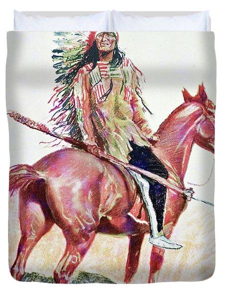 Sioux Chief Duvet Cover