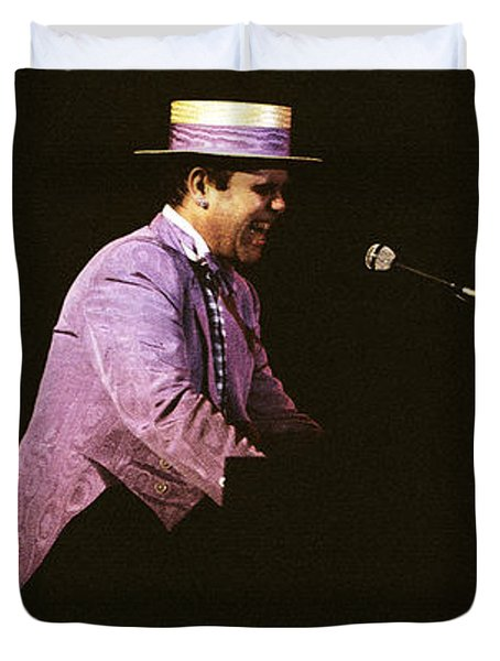 Sir Elton John 3 Duvet Cover